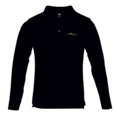 Black Polo long sleeve CVCP